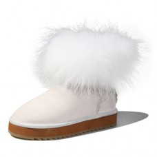 Ausland Women's Leisure Sheepskin Short Boot 9158---FREE SHIPPING