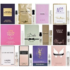 Bestselling Designer Fragrance Samples for Women - 12ct