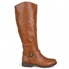Brinley Co Women's Molly Riding Boot Regular & Wide Calf