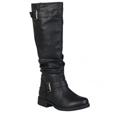 Brinley Co Women's Sunny Riding Boot Regular & Wide Calf---FREE SHIPPING