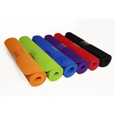 "Clever Yoga Mat BetterGrip Eco-Friendly With The Best Recyclable Non-Slip and Durable TPE(6mm) - Comes With Our Special ""Namaste"" Lifetime Warranty (6 Colors)  (Free Shipping)"