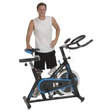 Exerpeutic LX7 Indoor Cycle Trainer with Computer Monitor and Heart Pulse Sensors  (Free Shipping)