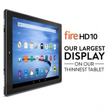 "Fire HD 10, 10.1"" HD Display, Wi-Fi, 16 GB - Includes Special Offers, Black---FREE SHIPPING"