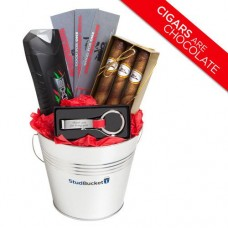 Gift Basket Ideas for Men - Valentine's Day Gifts for Him - Chocolate Cigars Keychain Bottle Opener Axe Spray - Anniversary Thank You Happy Birthday - Speedy Delivery---Free shipping