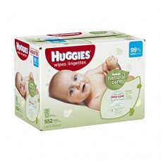 Huggies Natural Care Baby Wipes Refill, 552 Count  (Chose the size that fits your lifestyle, leave the rest to us)