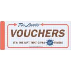 Knock Knock Vouchers for Lovers  (FREE AND FAST SHIPPING)