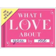 Knock Knock What I Love About You Fill-in-the-Blank Journal---Free shipping