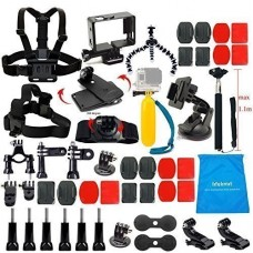 LifeLimit HD Camera's Outdoor Sports Kit for Gopro 4, Hero 3/2/HD (17 Items)