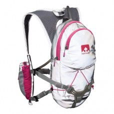 Nathan TorchLight(tm) Intensity Backpack Reflective Silver Floro Fuschia One Size