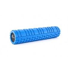"ProSource Sports Medicine Foam Roller 24"" x 6"" with Grid for Deep-Tissue Massage and Trigger-Point Muscle Therapy (Available in 3 Color Options)"