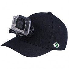 Smatree Baseball Hat for GoPro - SmaHat H1 with Quick Release Replacement for Gopro Head Strap for Go Pro Hero 4, Session, 3+, 3, 2, 1 (L 58-60cm)