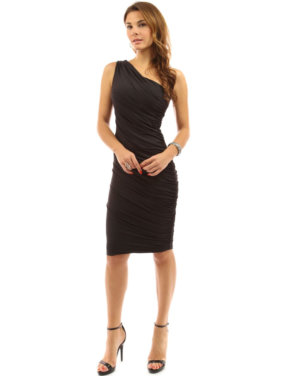 PattyBoutik-Womens-One-Shoulder-Cocktail-Dress
